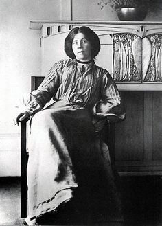 B/W Photograph of Margaret MacDonald, c. 1900