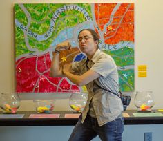 Here's a highlight from an Art Camp that Nossi hosted.  Photo by Nicole Drake