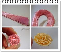 Another Ribbon Flower Tutorial - Beautiful!