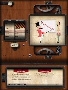 Class With Apps Review: Phrasal Verbs Machine #edapp #edtech #classwithapps