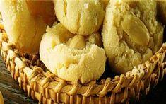 Receita de Biscoitos com Amêndoas | Kurabiedes (Grécia) | Doces Regionais