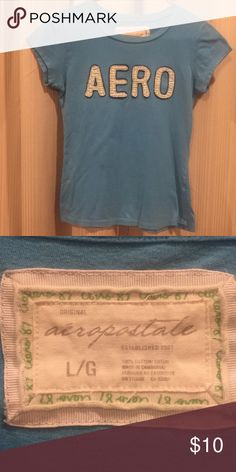 Women's Aeropostale tee size Large Worn but still in excellent condition.  No rips or stains.  Pet and smoke free home. Aeropostale Tops Tees - Short Sleeve