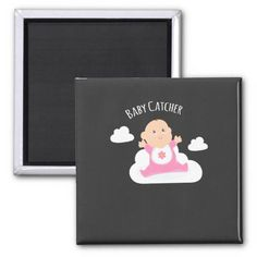 Midwife - Baby Catcher Magnet Surprise Birthday Gifts, Keep It Cleaner, Catcher, Holiday Cards, Magnets, Joy, Christian Christmas Cards, Happiness