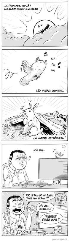 Comic : Petite nature - New Slang