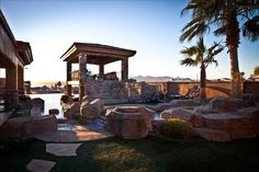 Lake Havasu City Vacation Rental - VRBO 396822 - 5 BR Colorado River Area House in AZ, Spectacular Private Desert Resort Style Retreat..Views & Pool