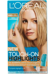 How to get perfect highlights at home hottest hair colors loral paris touch on highlights says it is great product solutioingenieria Images