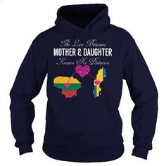 THE LOVE BETWEEN MOTHER AND DAUGHTER - Lithuania Sweden - #tees #teens. SIMILAR ITEMS => https://www.sunfrog.com/States/THE-LOVE-BETWEEN-MOTHER-AND-DAUGHTER--Lithuania-Sweden-130620446-Navy-Blue-Hoodie.html?60505