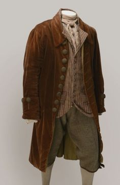 This is an outfit of a working class man in the century, which resembles th… - Historical Dresses 17th Century Clothing, 17th Century Fashion, 18th Century Dress, 18th Century Costume, 1800s Fashion, Vintage Fashion, Mens Fashion, Rococo Fashion, French Fashion