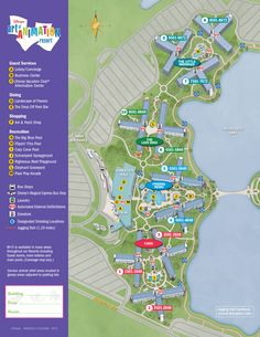 33 best Disney World Maps images on Pinterest   Disney world resorts ...