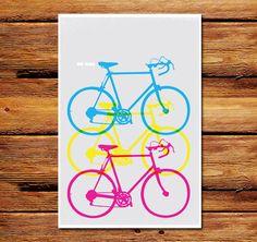 We Bike Vertical Poster Like and Repin. Thx Noelito Flow. http://www.instagram.com/noelitoflow