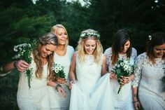Maggie and Nate Photo: Andrew Hewson Bridesmaid Dresses, Wedding Dresses, Fashion, Bridesmade Dresses, Bride Dresses, Moda, Bridal Gowns, Fashion Styles