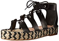 LOEFFLER RANDALL Womens IggyVA Espadrille Sandal Black 10 M US -- Check this awesome product by going to the link at the image.(This is an Amazon affiliate link)