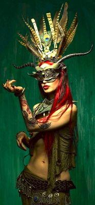 I love the warrior women