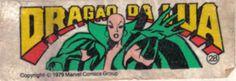 Dragão da Lua - Essa é uma coleção de 36 figurinhas dos Super-Heróis da Marvel, do chiclete Ping-Pong, lançadas em 1979, as quais colecionei todas e colei na cômoda do quarto, como todo mundo fez.