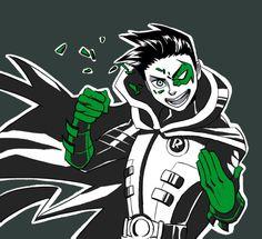 Batfamily Fight Club: Robin - http://inkydandy.tumblr.com/