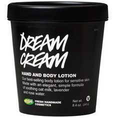 $29.95 8.4 oz dream cream eczema lush