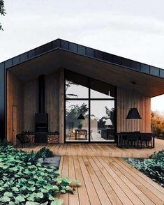 Design Exterior, Modern Exterior, Door Design, Design Design, Cabins In The Woods, House In The Woods, Style At Home, Home Fashion, Modern House Design