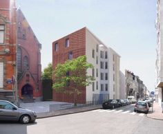 51N4E de lork | 30 studios for disabled people . brussels #architecture