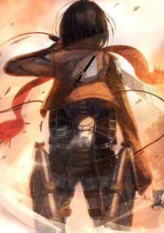 This world is crammed with cruelty. -Mikasa
