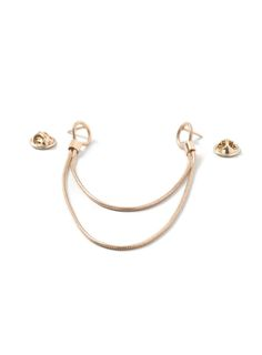 Gold Look Chain Collar Tips*