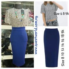 New look! New Arrivals! #top #skirt www.questworld.com.ng #pay on delivery ( lagos ) #nationwide delivery from 24hrs