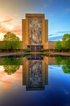University of Notre Dame in South Bend, Indiana as shot by Kevin Miller Photography (www.kmillerphoto.com)
