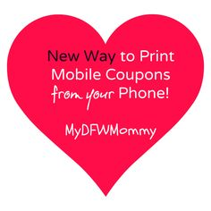 Mobile Coupons ~ New Way to Print Coupons From Mobile Devices!