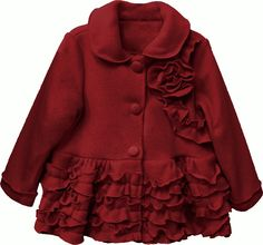 Mayoral Baby Girls Dress Coat - Rose Pink | Girl's Jackets & Coats ...