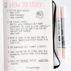 ◖ Study Guide//Cute Notes ◗