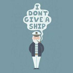 "102 Likes, 3 Comments - Ouroboros - Artwear (@ouro.artwear) on Instagram: ""Domingo.. I don't give a ship! Arte de Teo Zirinis. #ouroboros #artwear #camisetas #arte…"""