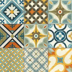 Mosaic Tapas patchwork tiles from The Reclaimed Tile Company | Patchwork tiles…