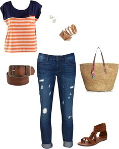 """Average City Girl"" by anakari on Polyvore"
