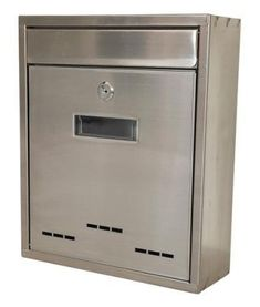 Strend Pro Schránka FLATBOX, nerez, 310x260x90 mm Filing Cabinet, Storage, Furniture, Home Decor, Products, Purse Storage, Decoration Home, Room Decor, Larger
