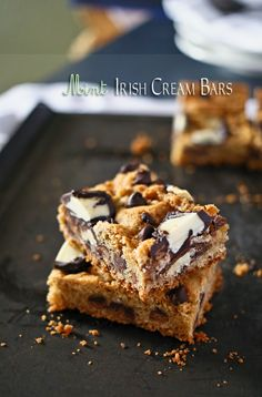 Mint Irish Cream Bars - Kleinworth & Co. She always has the BEST recipes!! Yum!
