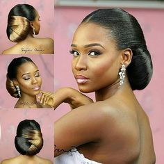 Chignon mariage africainCoiffure mariageTerrific ▷ 1001 + superior hairstyles with a braid on the facet , w Black Wedding Hairstyles, Black Ponytail Hairstyles, Kids Braided Hairstyles, Black Girls Hairstyles, Afro Hairstyles, African Natural Hairstyles, Curly Hair Styles, Natural Hair Styles, Bridal Hair Inspiration