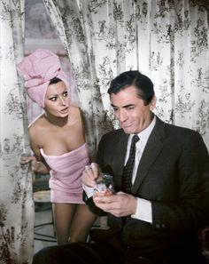 Sofía Loren con Gregory Peck