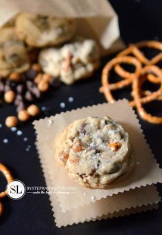 Salted Pretzel Chocolate Chip Cookies Recipe