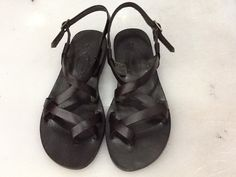 CAMENE BLACK: Toe Cross Strap Leather Sandal Handmade leather sandals custom size available by BODRUMSANDALS on Etsy