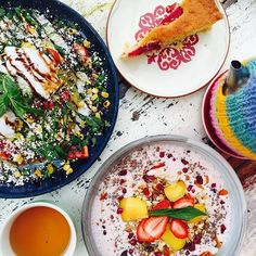 """Instagrammer liveinliving shared this gorgeous photo of """"something colourful to start the day"""" from Local Press Cafe on the Kingston Foreshore and we couldn't think of a better way to start this Wednesday in the capital! #visitcanberra #restaurantaustralia"""