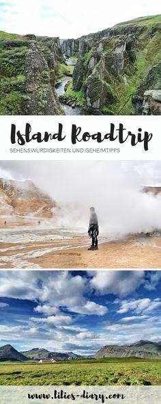 Island Roadtrip – in 9 Tagen um die Insel und die schönste Natur entdecken. Die Klippen bei Dyrhólaey, Vik, Fjadrárgljúfur Canyon, Svartifoss-Wasserfall, die Jökulsárlón Lagune, Namafjall und Hofsós sind tolle Spot. Die schönsten Orte in Island findet ihr auf lilies-diary.com.