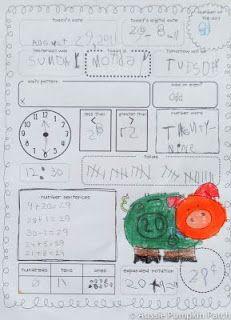 Aussie Pumpkin Patch: Math Journals