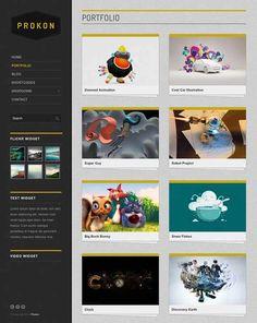 WordPress Premium Creative Portfolio Themes.  #best_wordpress_themes_2013