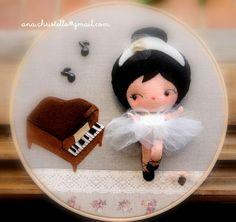 : Sweet gift - piano e bailarina