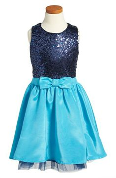 Un Deux Trois Sleeveless Party Dress (Big Girls) available at #Nordstrom