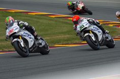 Nicky Hayden race action shot