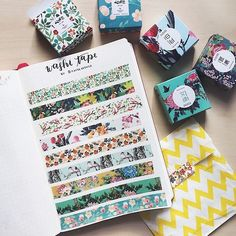 Shop for your planner accessories, exclusive washi tapes, greeting cards, traveler's notebook, cute stationery & more. Bullet Journal Washi Tape, Bullet Journal Inspiration, Making Tape, Bujo Inspiration, Cinta Washi, Planners, Design Tattoo, Desenho Tattoo, Stationery