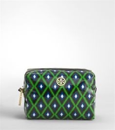 Cute make-up bag by Tory Burch in my favorite colors!