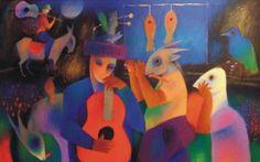 Chichorro - pictify.com Gustav Klimt, African, Drawings, Illustration, Artwork, Artist, Portugal, Paintings, Pop