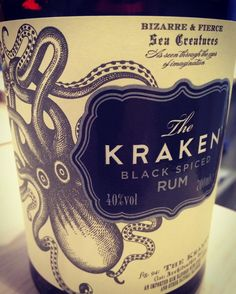 Gerade in der Verkostung... #krakenrum #burgmanns
