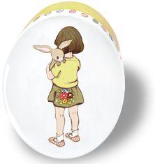 """Belle & Boo: Dose Motiv """"Belle umarmt Boo"""". Wunderschöne Nostalgie. In der Belle & Boo Schmuckdose aus Metall ist Platz für die kleinen Dinge des Lebens."""